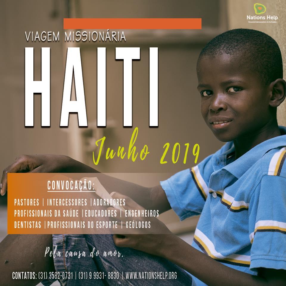 Viagem Haiti junho de 2019