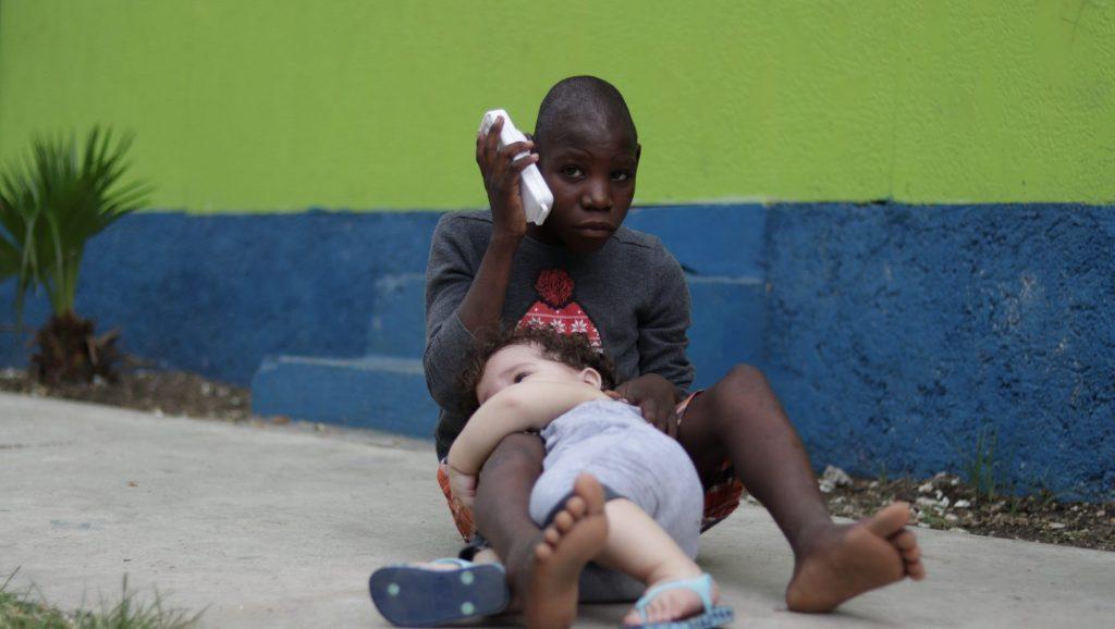 Davi e Moise no Haiti